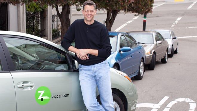 Zipcar Chief Technology Officer Luke Schneider. File.