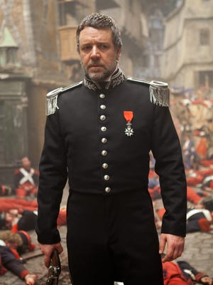 """Russell Crowe says the performances in 'Les Miserables' were meant to be """"raw and real."""""""