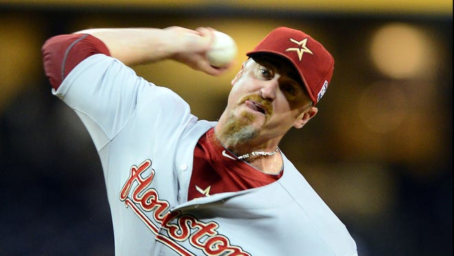 Brett Myers pitched out of the bullpen for the Astros last season but has spent most of his career as a starter.