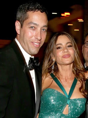 Nick Loeb and Sofia Vergara attend an Emmy after party on Sept. 23 in L.A.