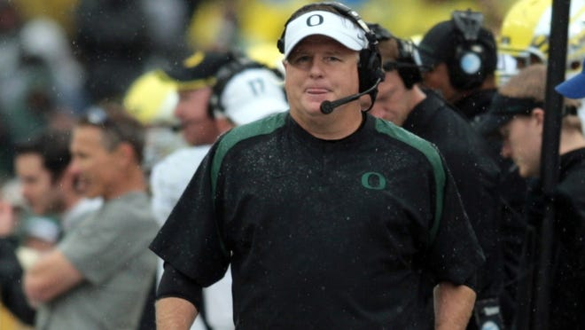 Oregon plans to make offensive coordinator Mark Helfrich its next head football coach if Chip Kelly leaves for the NFL in the offseason.