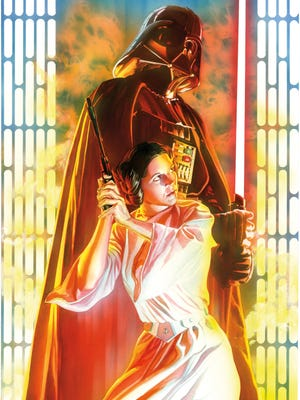 "Darth Vader and Princess Leia have starring roles in ""Star Wars,"" a new comic book that's keeping the franchise going strong into a new trilogy of movies."