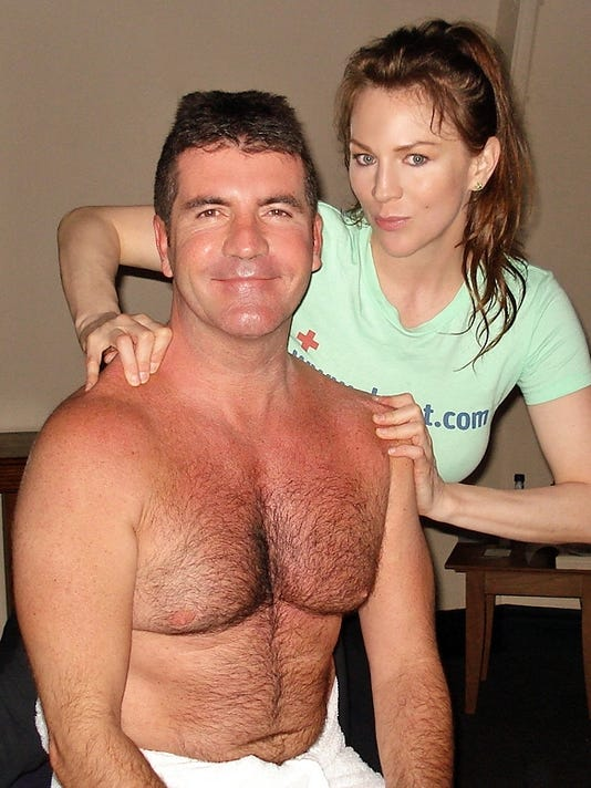 Dr. Dot with Simon Cowell