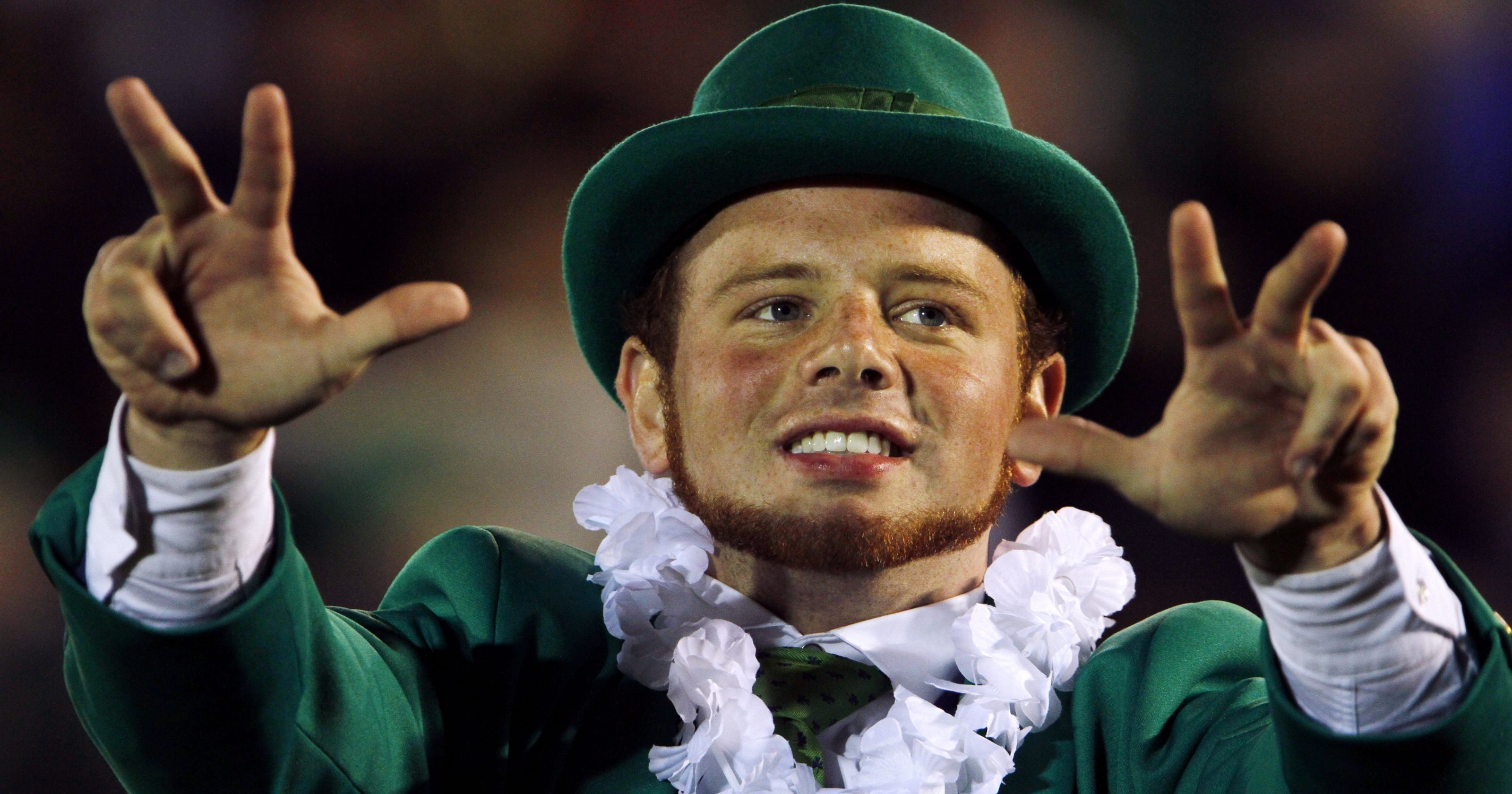 Notre Dame's mascot might be the biggest BCS celebrity