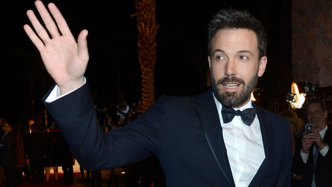Ben Affleck arrives at the 24th annual Palm Springs International Film Festival Awards Gala on Saturday night.
