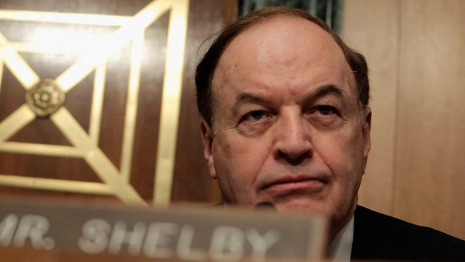 Alabama Sen. Richard Shelby is the new top Republican on the Appropriations Committee.