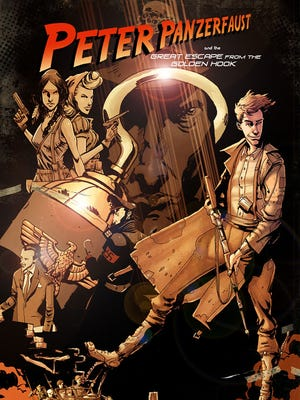 Peter Pan, Captain Hook and others get the Indiana Jones treatment in the World War II-set comic 'Peter Panzerfaust.'