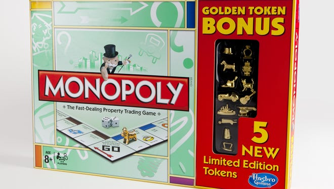 "Available in February, a special ""Golden Token"" edition of 'Monopoly' will be the last to have all the current tokens and the only one to feature all five of the potential new pieces, such as the helicopter, guitar and toy robot."