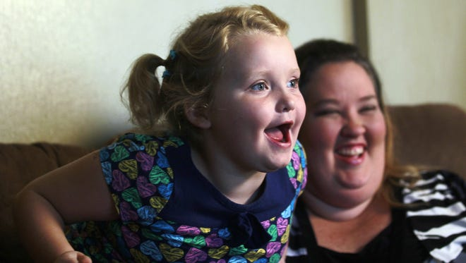 Alana 'Honey Boo Boo' Thompson and her mother, June Shannon.