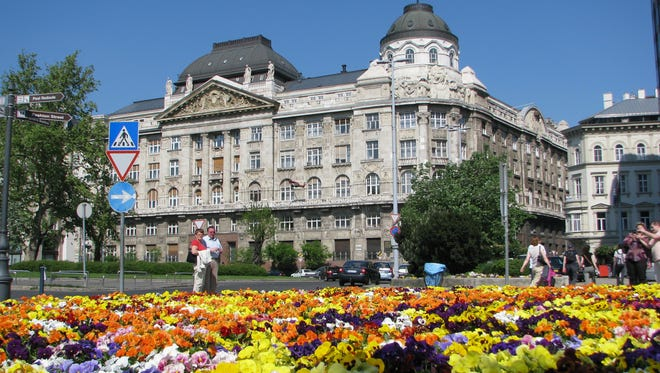 Spring is a great time to go to Europe because the weather's good and you can save a couple of hundred bucks over summer prices. Cities, like Budapest, often have colorful floral displays as well.