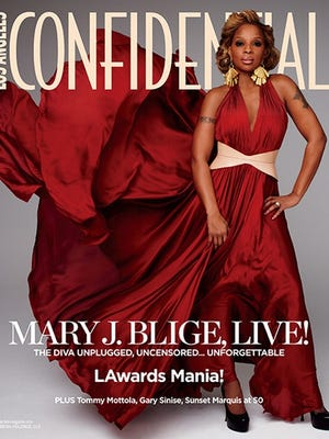 Mary J. Blige opens up about her up-and-down life.