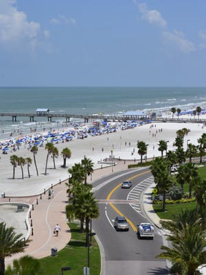 The spirit of Florida's tourist boom is alive and well in Clearwater Beach.