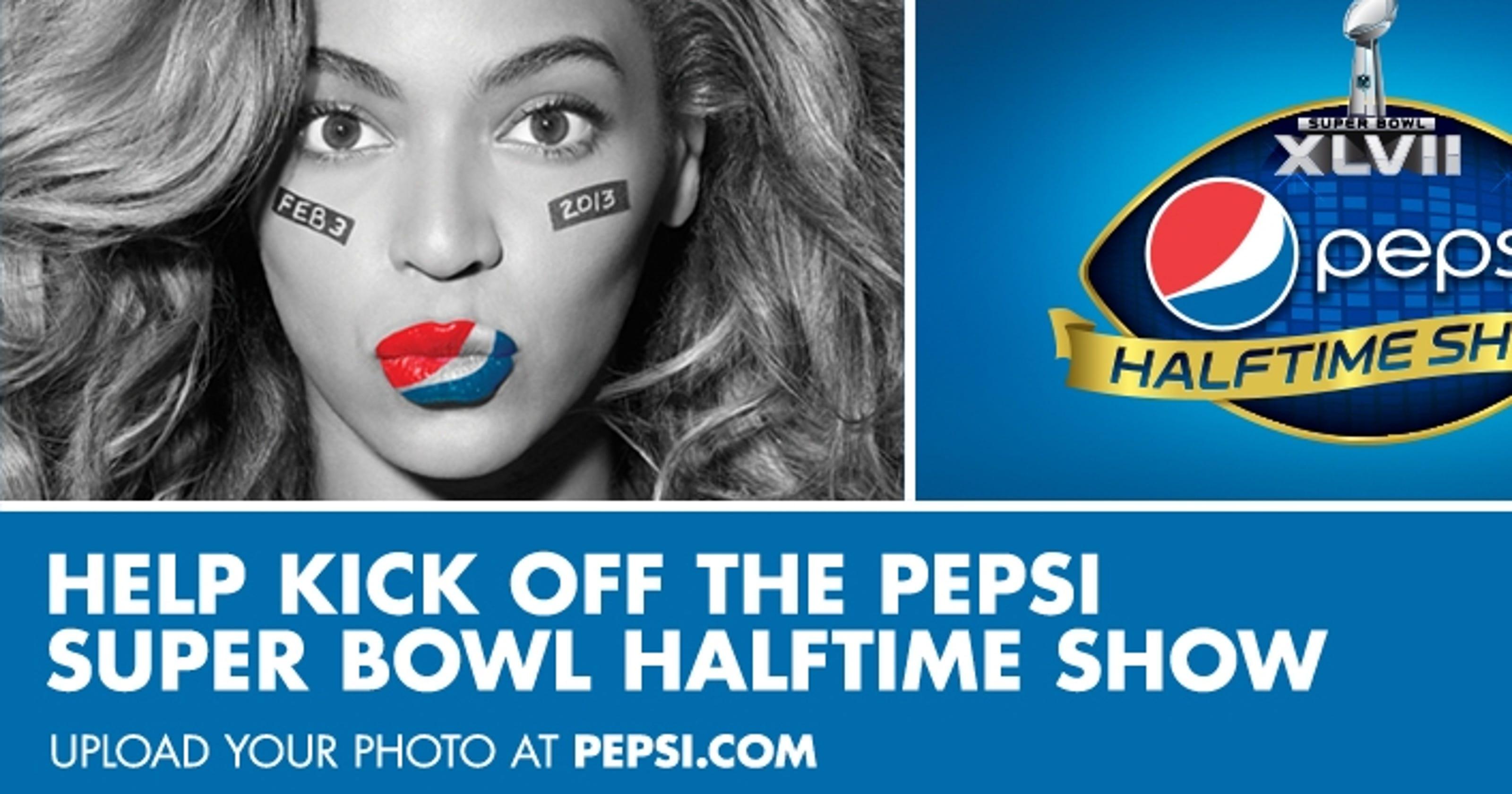 Pepsi bud join forces to make super bowl splash aloadofball Images