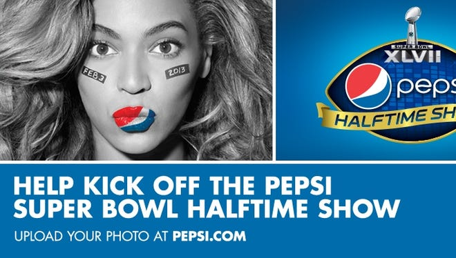 A Pepsi promotion for the Super Bowl halftime show starring Beyonce.