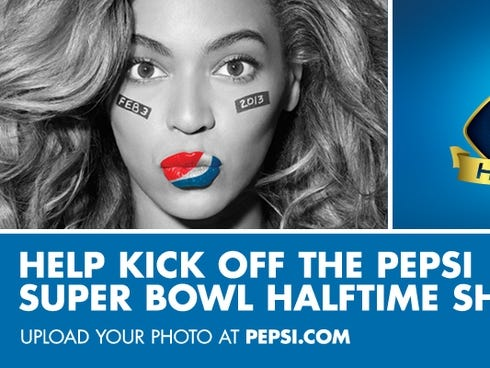 Beyonce January 2013 on Promotion For The Super Bowl Halftime Show Starring Beyonce    Pepsi