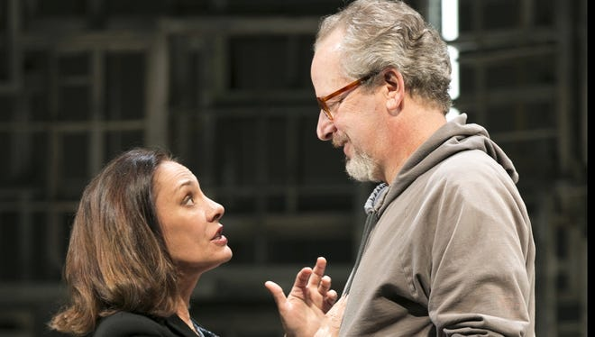 Laurie Metcalf and Daniel Stern star on Broadway in 'The Other Place.'