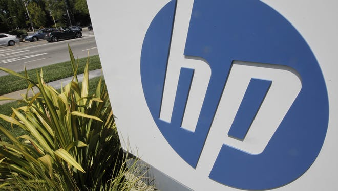 Hewlett Packard headquarters in Palo Alto, Calif. HP remains the top PC maker.