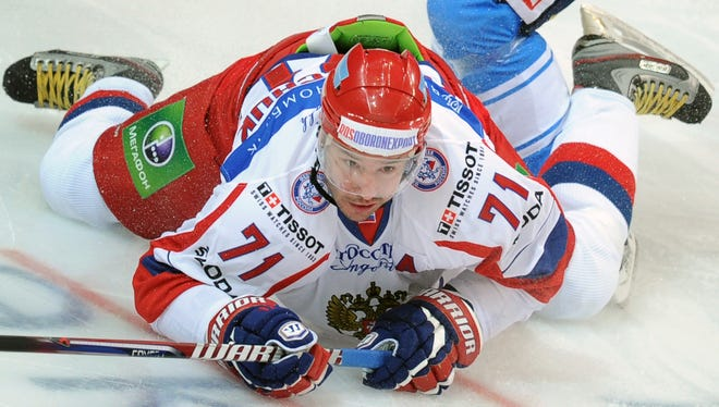 Russia's Ilya Kovalchuk will play in the KHL All-Star Game and serve as captain of the West team.