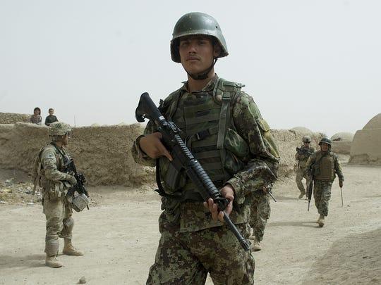 afghanistan us patrol