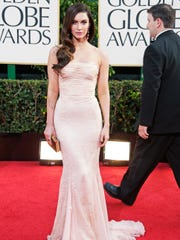 a698a1ff5 Megan Fox arrives at the 70th Annual Golden Globe Awards held at The Beverly  Hilton Hotel on Jan. 13 in Beverly Hills. (Photo  Jeff Vespa