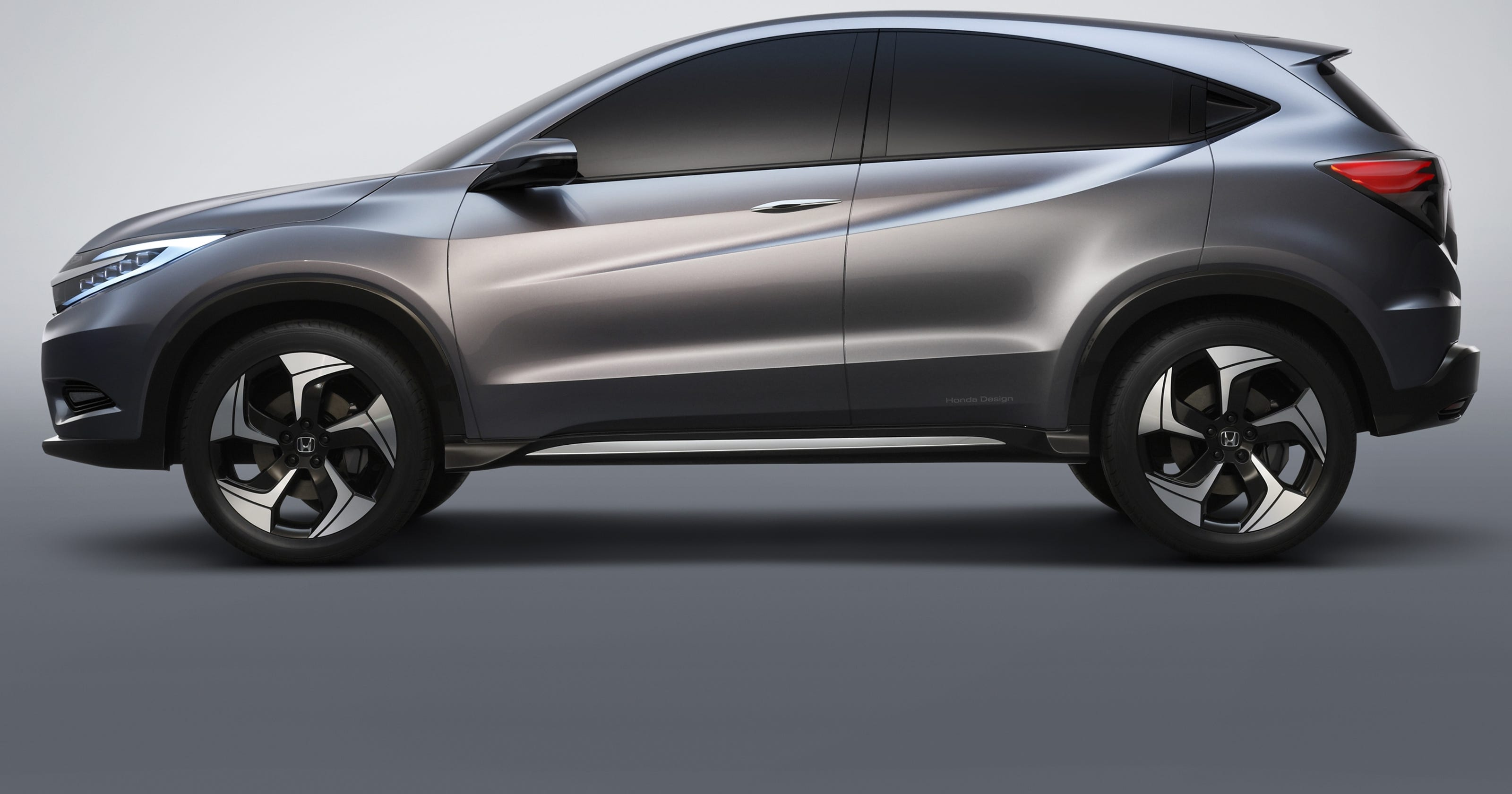Best Suv For The Money >> Honda portrays new small crossover as 'urban SUV'