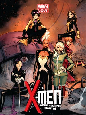 """Storm, Rogue and Jubilee head up the X-women  at the center of Marvel Comics' relaunched """"X-Men"""" series."""