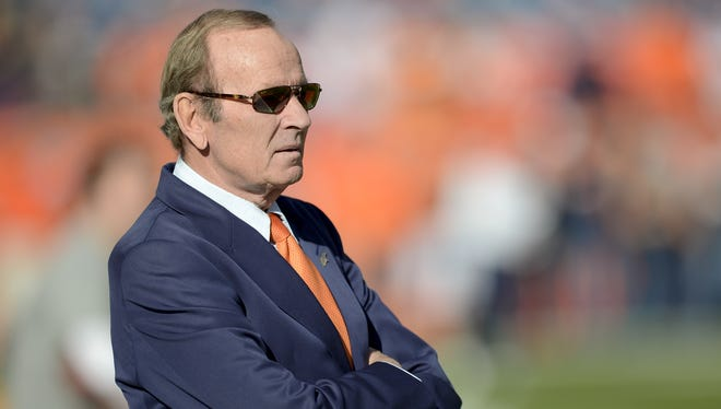 Pat Bowlen won't be collecting a third Lombardi Trophy this year.