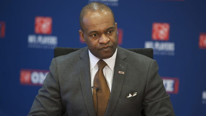 NFLPA leader DeMaurice Smith says the union is open to HGH testing.