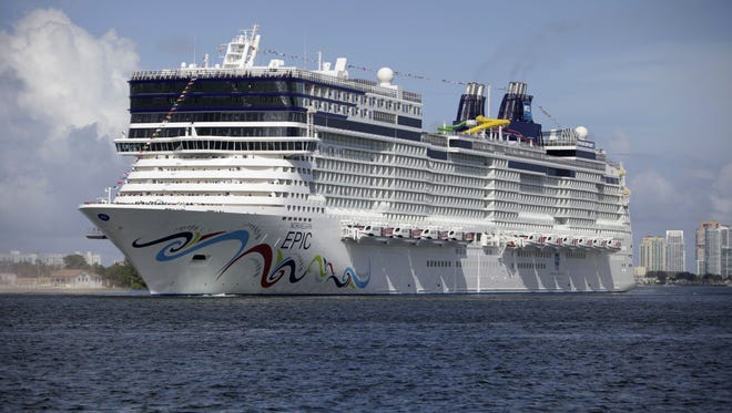 Norwegian Cruise Line's latest ship, the 4,100-passenger Norwegian Epic, features eight large Deluxe Owner's Suites located at the front of the ship.