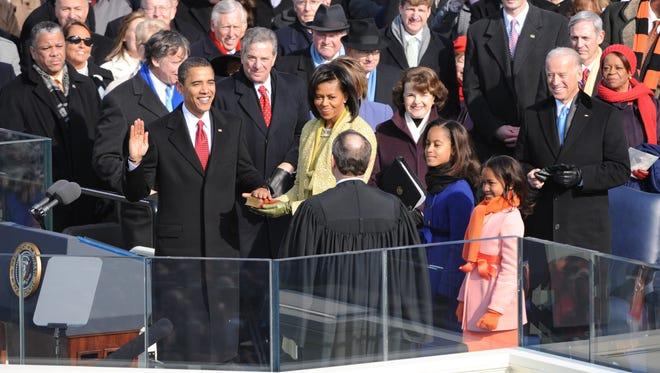 President Obama's inauguration in 2009