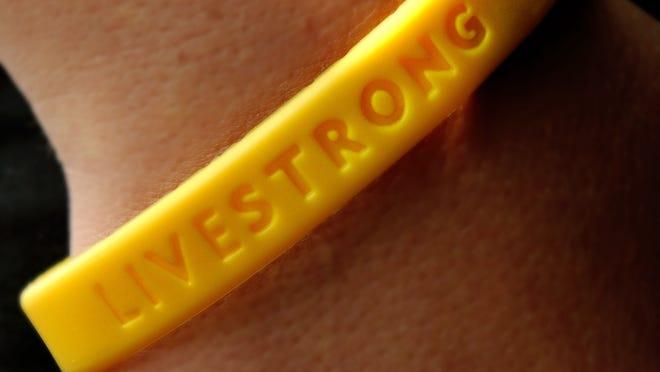 The Livestrong Foundation bracelet