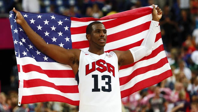 Paul started all eight games for the U.S. in London.