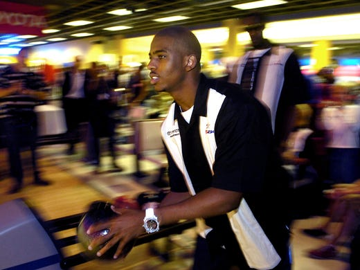 NBA: New Rocket Chris Paul brings celebrity bowling to The ...