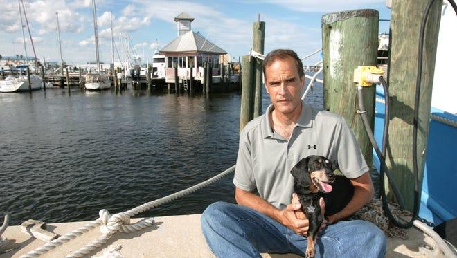 The city of Riviera Beach, Fla., took Fane Lozman's houseboat in a rent dispute in 2009.