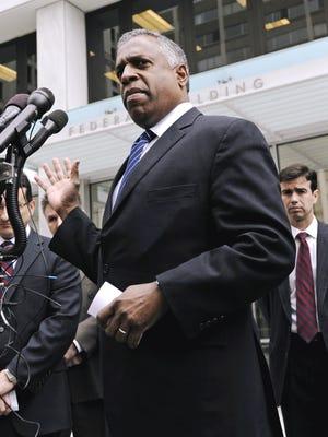 In this April 8, 2010 file photo, B. Todd Jones, U.S. Attorney for Minnesota, speaks in St. Paul.