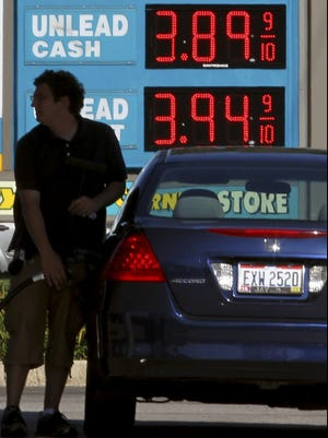 Gas prices fell last month but have been spiking upward in recent weeks, especially in California.