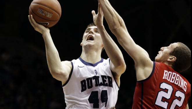 Butler center Andrew Smith had 15 points and seven rebounds in his team's win over Richmond.