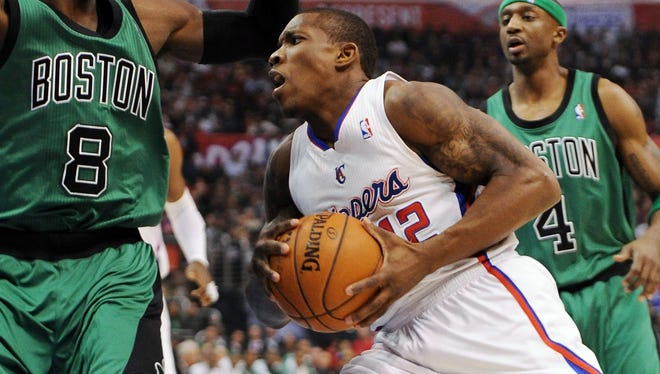 Los Angeles Clippers point guard Eric Bledsoe (12) has stepped up his game with the injury to starter Chris Paul.
