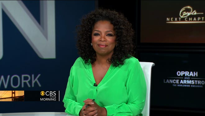 Oprah Winfrey chatted with pal Gayle King, Charlie Rose and Nora O'Donnell on Tuesday's 'CBS This Morning.'