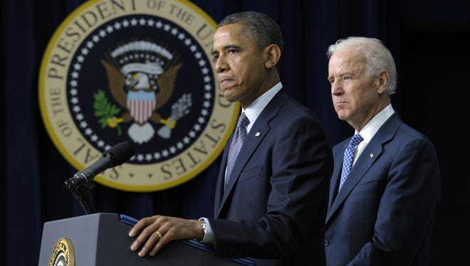 President Obama, with Vice President  Joe Biden and others presented his proposals to reduce gun violence on Wednesday in Washington, D.C.