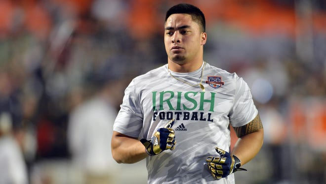 Notre Dame Fighting Irish linebacker Manti Te'o has plenty of questions about the girlfriend hoax story.