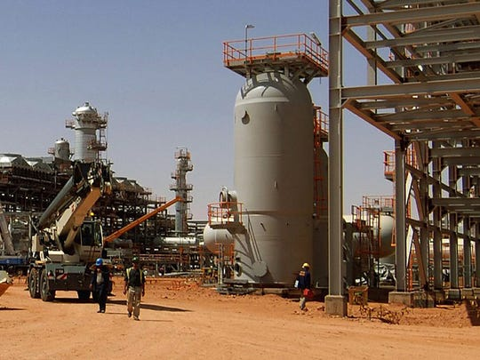 Algeria gas facility