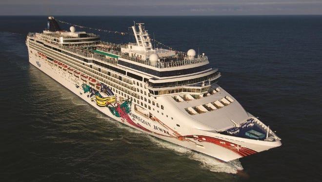 A Norwegian Cruise Line ship returning to Houston.