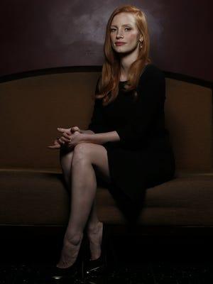 Jessica Chastain talks about her newfound movie-star status.