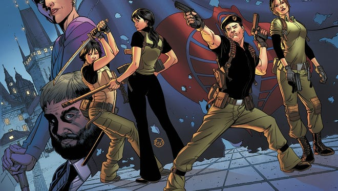 """Ronin, Chameleon, Flint and Lady Jaye are part of a clandestine team to solve problems before they happen in """"G.I. Joe: The Cobra Files."""""""