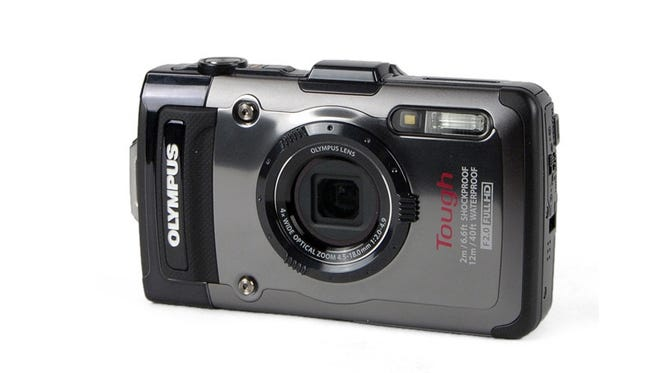 The Olympus TG-1 is a great tough-cam for the slopes.