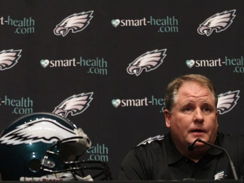 Chip Kelly on Chip Kelly Got Endorsement On Eagles From Andy Reid   The Poughkeepsie