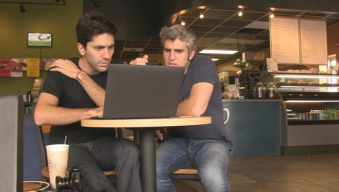 "Nev Schulman and Max Joseph, are filmmakers featured in MTV's ""Catfish: The TV Show."""