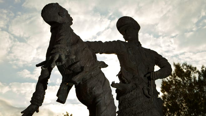 Birmingham is Alabama's largest city and played a pivotal role in the Civil Rights Movement. A statue at Kelly Ingram Park honors demonstrators from the marches.