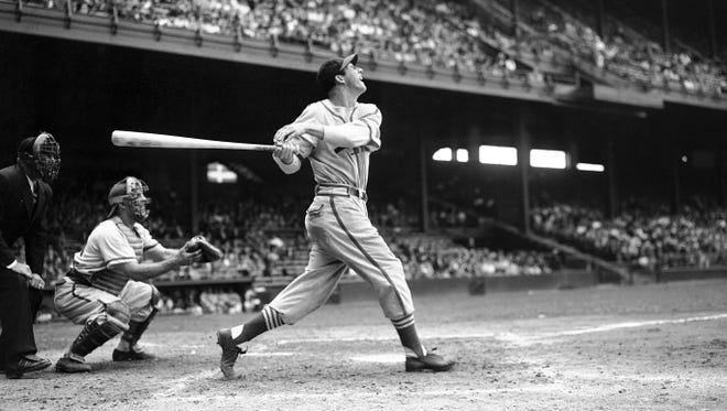 Stan Musial played his entire 22-year career with St. Louis.